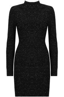 Open back dress Kjoler Sort