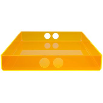 tray big  orange