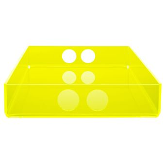 tray small  yellow