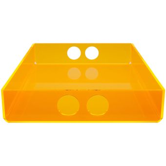tray small  orange
