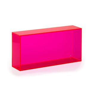 wall box oblong  pink