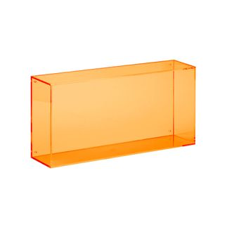 wall box oblong  orange
