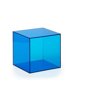 wall box square  ocean blue