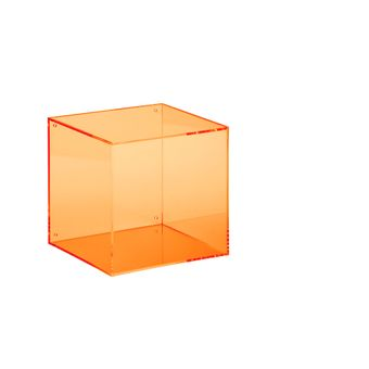 wall box square  orange