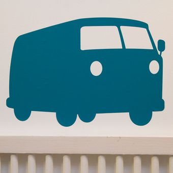 VW Wallsticker  Petrol