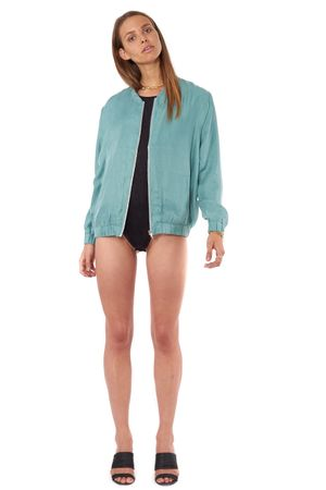 CUPRO BLOUSON  SEA FOAM