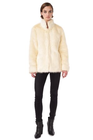 FAUX FUR COAT  IVY