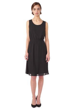 GEORGETTE DRESS  BLACK