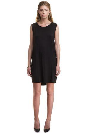 JERSEY DRESS   BLACK