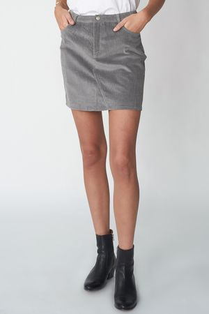 POP COPENHAGEN - CORDUROY SKIRT