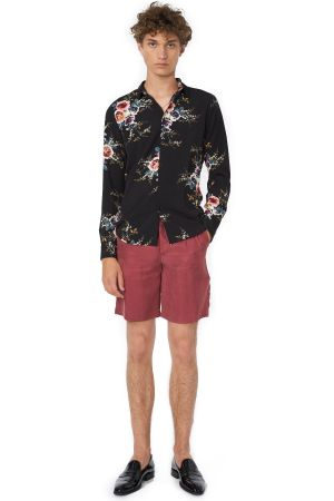 POP COPENHAGEN - FLORAL PRINTED SHIRT