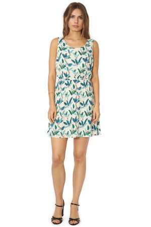 POP COPENHAGEN - JUNGLE PRINTED DRESS