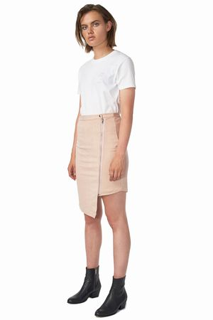POP COPENHAGEN - LONG BIKER WRAP SKIRT