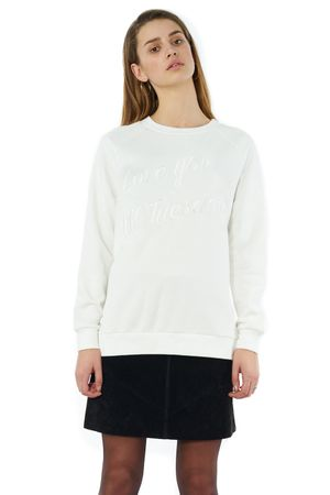 LOVE YOU TILL TUESDAY LUXE SWEAT - POPCopenhagen