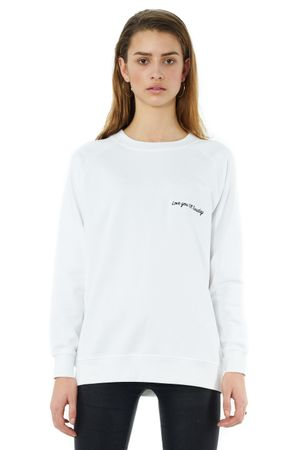 LOVE YOU TILL TUESDAY SWEATSHIRT - POPCopenhagen