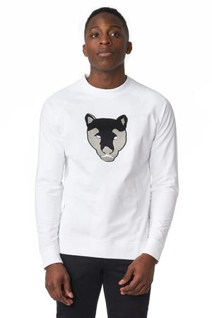 POP COPENHAGEN - PANTHER EMBROIDERY SWEATSHIRT