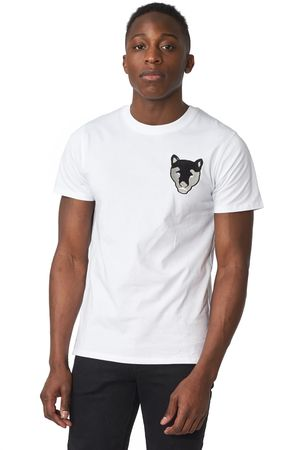 POP COPENHAGEN - PANTHER EMBROIDERY TEE