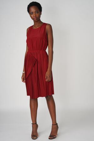 POP COPENHAGEN - PLEATED DRESS