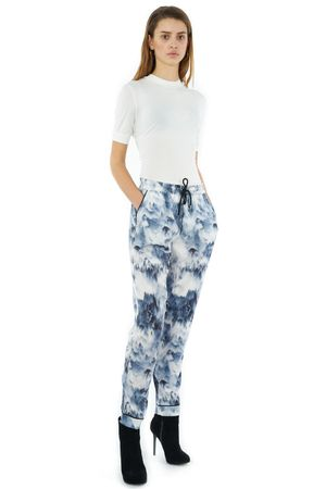 PRINTED CHILL ON SUNDAY PJ TROUSERS - POPCopenhagen