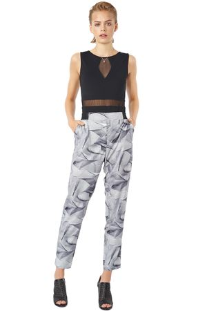 POP COPENHAGEN PRINTED TROUSERS