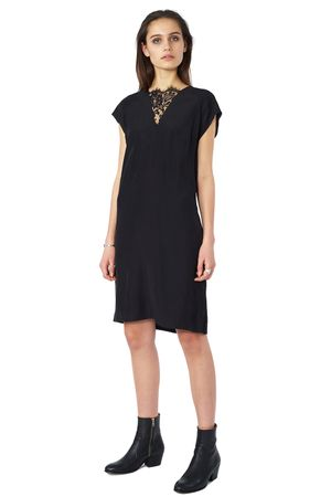 POP COPENHAGEN - RAGLAN DRESS WITH LACE