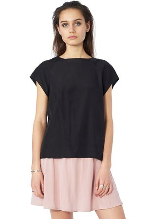 POP COPENHAGEN - RAGLAN TOP WITH LACE