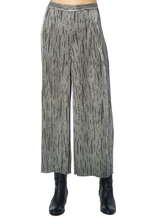 POP COPENHAGEN - RIBBED PARTY KIMONO TROUSERS