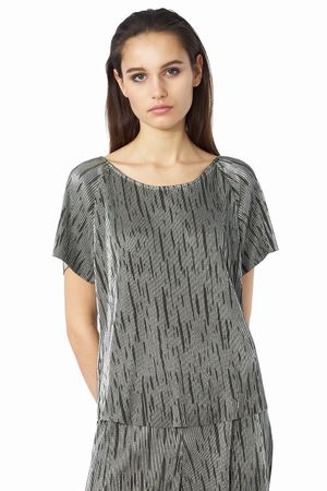 POP COPENHAGEN - RIBBED PARTY RAGLAN TOP
