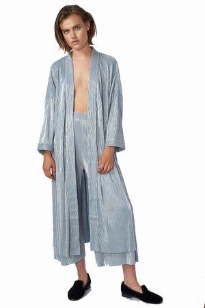 POP COPENHAGEN - RIPPLED PARTY KIMONO