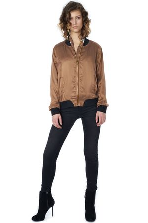 POP COPENHAGEN - SAND-WASHED SILK BOMBER