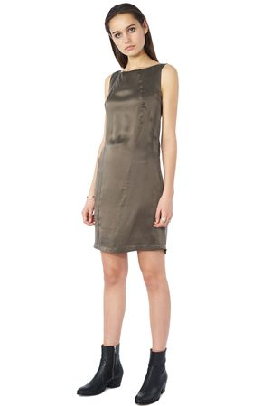 POP COPENHAGEN - SAND-WASHED SILK DRESS