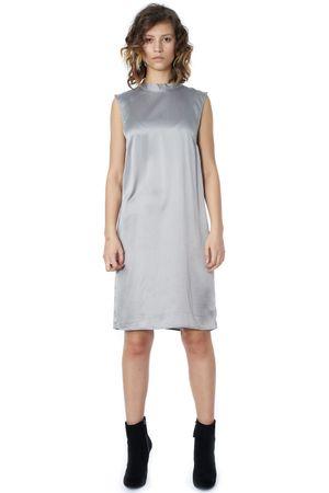 POP COPENHAGEN - SAND-WASHED SILK DRESS