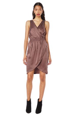 SAND-WASHED SILK DRESS - POPCopenhagen