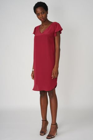 POP COPENHAGEN - SILK RAGLAN DRESS