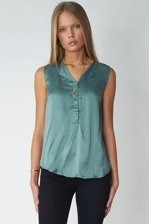 POP COPENHAGEN - SILK TOP