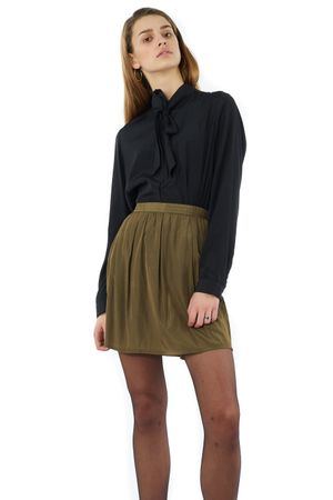SKIRT WITH ELASTIC WAIST  - POPCopenhagen