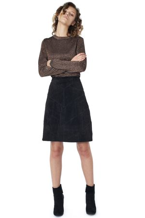 POP COPENHAGEN - SUEDE SKIRT