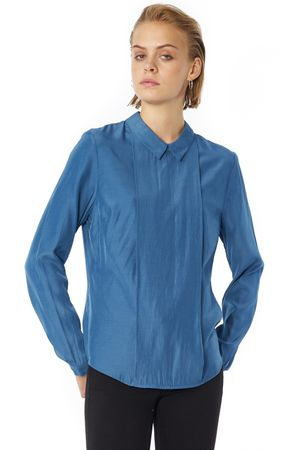 POP COPENHAGEN VISCOSE CLOSED SHIRT