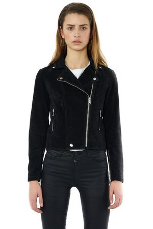 WASHED BIKER JACKET - POPCopenhagen