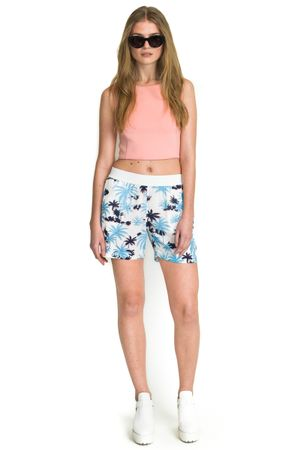 SCUBA CROPPED TOP  ROSE