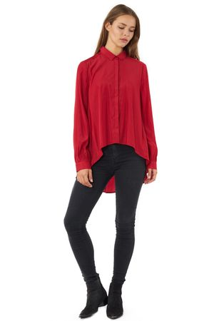 VISCOSE SHIRT  RED