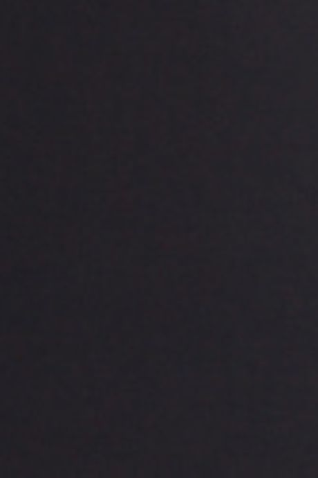 GEORGETTE SHIRT DRESS   BLACK
