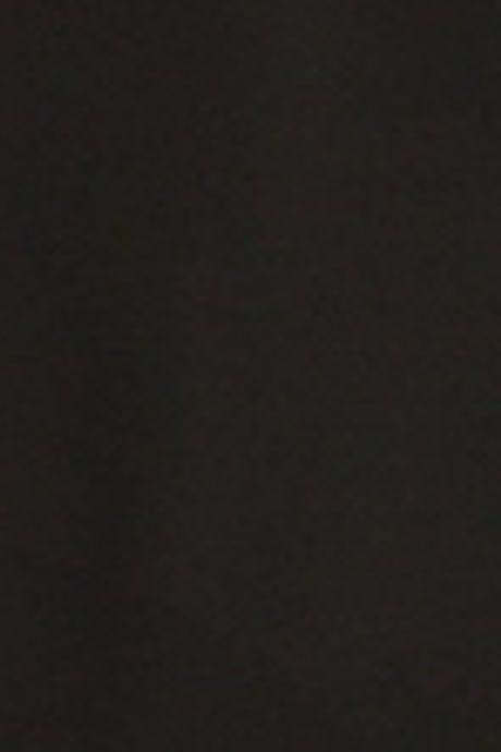 GEORGETTE TURTLE NECK BLOUSE  BLACK