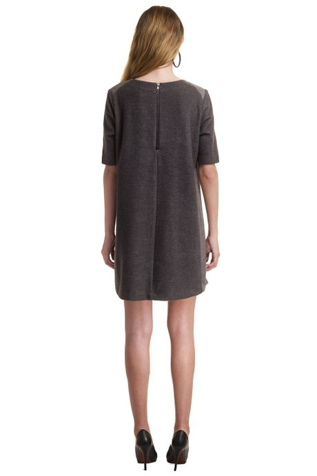 PEACH VS WOOLEN SWEAT DRESS  BLACK