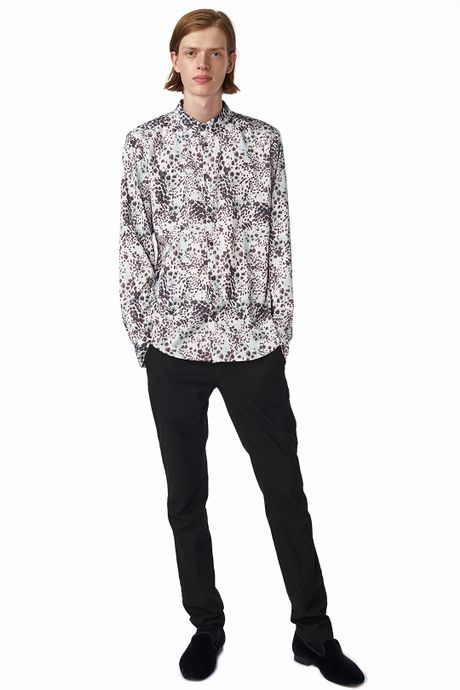 POP COPENHAGEN - ANIMAL PRINTED SHIRT