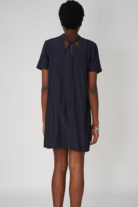 POP COPENHAGEN - ASCOT COLLAR DRESS