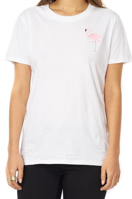 POP COPENHAGEN - FLAMINGO TEE