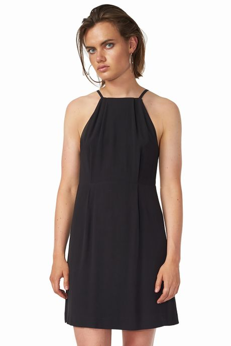 POP COPENHAGEN - GEORGETTE OPEN BACK DRESS