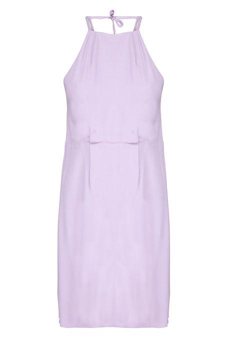 POP COPENHAGEN - GEORGETTE OPEN BACK DRESS