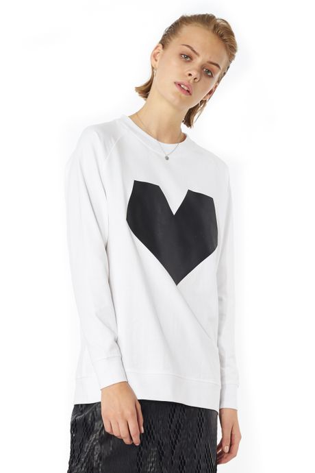 POP COPENHAGEN - HEART PICTOGRAM SWEATSHIRT